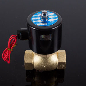 Hot Sale 1.25 Inch 2L350-35 High 180 Degrees Steam Solenoid Valve pictures & photos