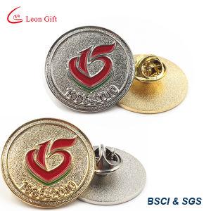 Factory Custom Logo Metal Silver Lapel Pins pictures & photos
