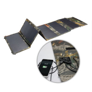 5V 12V 18V Travel Hiking Camping Portable Charging Bag 36W Waterproof Solar Panel Charger pictures & photos