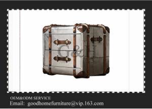 Living Room Decorative Useful Aluminium Storage Trunk Box pictures & photos