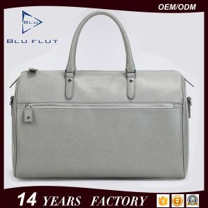 Custom Design High Quality Leather Business Tote Luggage Travel Bag pictures & photos
