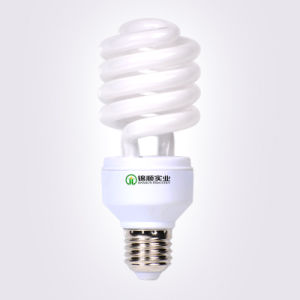 8000-10000hrs Energy Saving Lamp T4 26W Half Spiral CFL Lamp pictures & photos