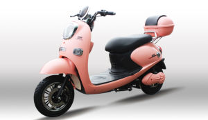 60V 1000W 2 Seats Motorcycle Electric with Disc Brakes for Woman pictures & photos