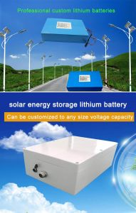 LiFePO4 Lithium Ion Rechargeable Solar Street Light Battery pictures & photos