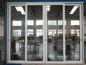Factory Sale Aluminum Sliding Glass Door with Stainless Steel Net/Mesh pictures & photos