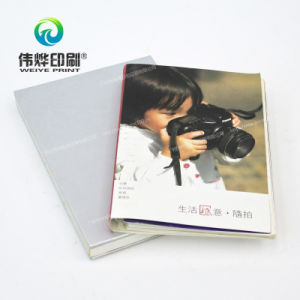 High Quality Printing Offprint Silver Notebooks with Embossed Logo pictures & photos