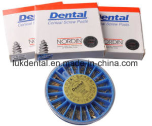 Hot Sale Nordin Dental Screw Post of Golden Plated Implant pictures & photos