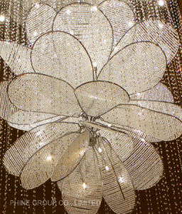 Phine Luxurious Ceiling Lamp with Crystal for Hotel and Restaurant pictures & photos