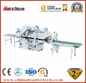 Double Side Industrial Woodworking Thickness Planer Production Line Machine pictures & photos