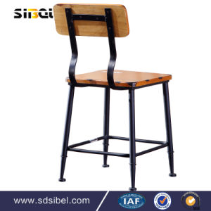 Wholesale Imitated Wood Indoor Cafe Chair pictures & photos
