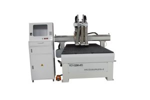 Double Spindle CNC Wood Carving Machinery pictures & photos