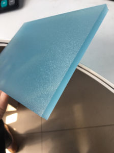 Two Sides Frosted Polycarbonate Door Panel pictures & photos