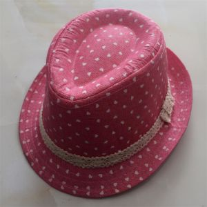 Children Trilby Hat with The Decroration or Printing pictures & photos