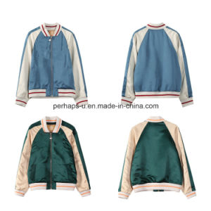 Wholesale Women Coat Casual Long - Sleeved Short Baseball Clothing pictures & photos