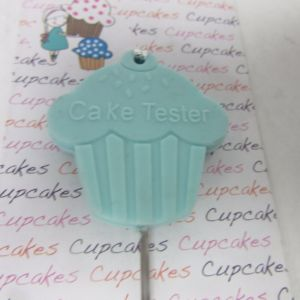 Cake Tester Bread Tester with Silicone Head and Stainless Steel pictures & photos