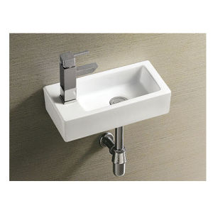Right and Left Square Wall Hung Basin Ce Approve pictures & photos