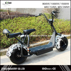 200kg Load Harley Electric Scooters Halley Smart Electric Car Scooter 60V/1000W Brushless Motor Lithium Battery pictures & photos