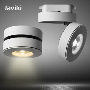7W/10W/12W COB LED Track Spot Light with Black White for Shops, Art Gallery, Show Room, Indoor Lighting pictures & photos