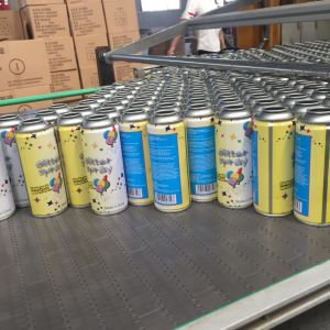 Snow Spray Aerosol String Can 4 Color Printing for christmas Day