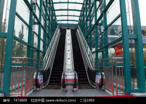 Otis Quality Heavy Duty Escalator with High Rise pictures & photos