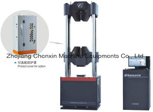 Computer Control Electro-Hydraulic Servo Strand Wire Unversal Testing Machine (GWE-600) pictures & photos