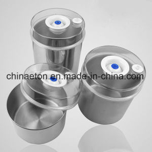 Eton Factory Stainless Steel Food Vacuum Tank, Vacuum Food Canister (ET-2600) pictures & photos