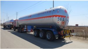 Factory Big Capacity ASME Adr LPG Gas Tanker Semi Trailer pictures & photos