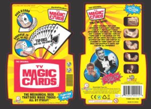 TV Magic Paper Playing Cards/Magic Poker Playing Cards pictures & photos