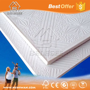 PVC Coated Gypsum Ceiling White Face Manufacturer pictures & photos