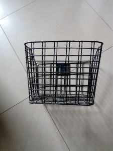 Contact Supplier Chat Now! Branded Unremovable Kids Bike Basket/Steel Wire Bicycle Basket Whoelsale pictures & photos