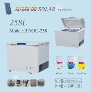 12V/24V Compressor 258L Solar Power Refrigerator Freezer pictures & photos