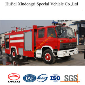 8ton Dongfeng 153 Water Tank Fire Truck Euro2 pictures & photos