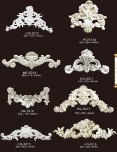 High Density PU Accessories / PU Ornaments for European Decorative Designs pictures & photos