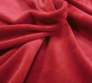 100%Polyester Soft Velvet Fabric pictures & photos