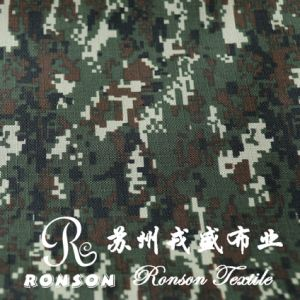 600d Ripstop Polyester Oxford Fabric, 0.5 Check Digital Camouflage pictures & photos