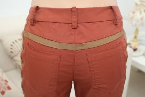 Brick Red Ladies Pants pictures & photos