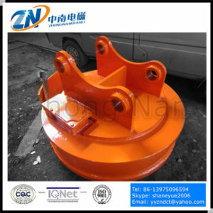 Scrap Yard Working Electro Magnetic Lifter Suiting for Excavator Emw-110L pictures & photos