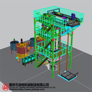 Automatic Vertical Polyurethane Foam Machine 3 D Renderings pictures & photos