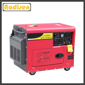 5kVA Portable Silent Power 5500 Gasoline Genset with CE pictures & photos