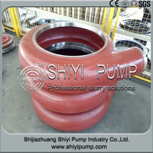 High Chrome Metal Lined Slurry Pump Volute Liner pictures & photos