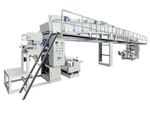 Saiwei Large BOPP Film Adhesive Tape Coating Machine pictures & photos