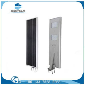 Promotion Price PIR Sensor Automatic Control All in One Solar Street Light pictures & photos