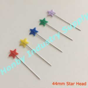 Craft Accessory 44mm Plastic Star Head Straight Sewing Pin