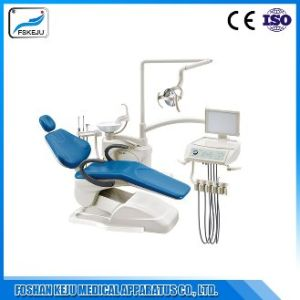 China New Design with 9 Memory Programs Dental Chair Unit