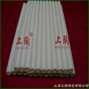 High Temperature Insulation 99.7% 99 Al2O3 Alumina Ceramic Tube in Industrial Kiln Furnace or Thermocouple Protection pictures & photos