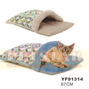 Fashion Windmill Pattern with Soft Plush Pet Beds Yf91314 pictures & photos