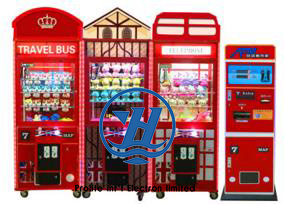 Coin Pusher Vending Toy Claw Crane Machine (ZJ-CG03) pictures & photos