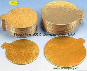 Round Cake Board Embossing Shiny Cake Base Boards with SGS, FDA (B&C-K005) pictures & photos