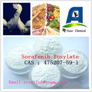 99% Purity Sorafenib Tosylate CAS: 475207-59-1 for Anti-Cancer Drugs pictures & photos