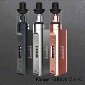 2017 Kanger Newest Subox Mini-C Kit Vs Subox Mini pictures & photos